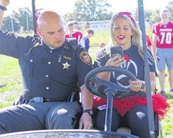 SRO Distracted Driving Golf Cart