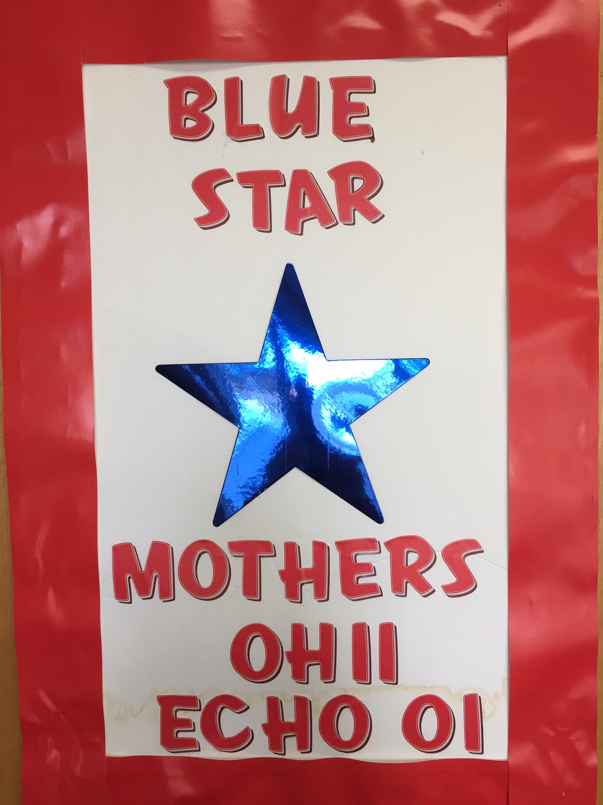 Blue Star Moms Poster