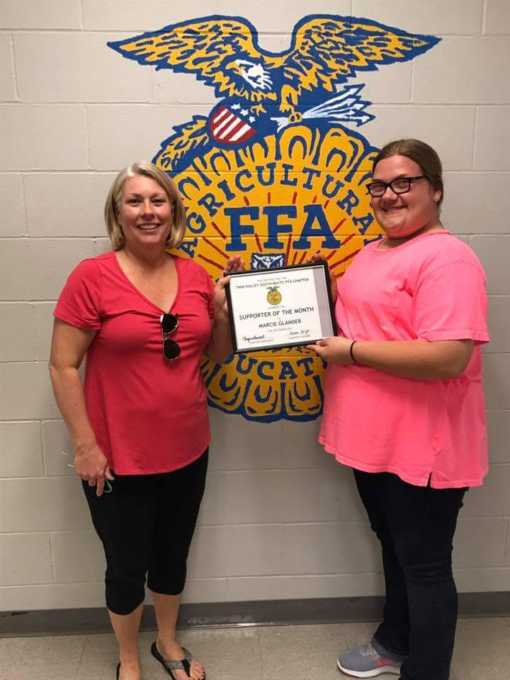 FFA Supporter of the Month