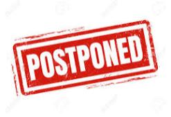 K Registration Postponed