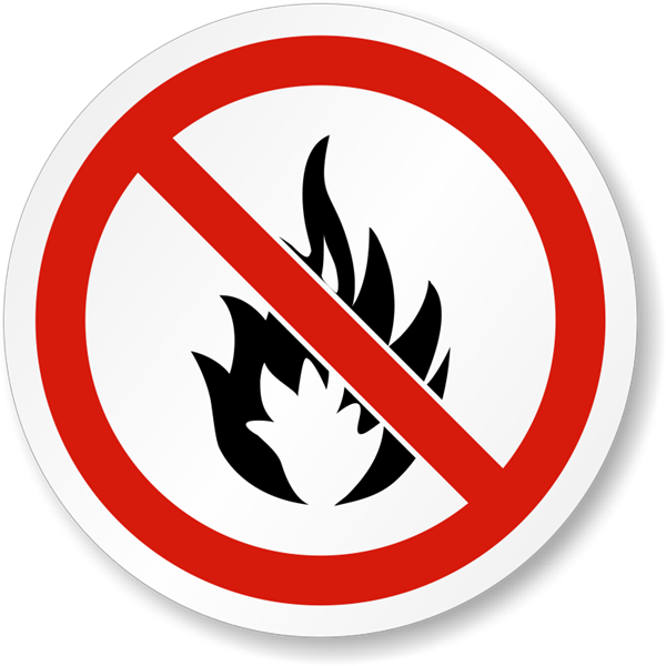 Fire Safety Warning Sign
