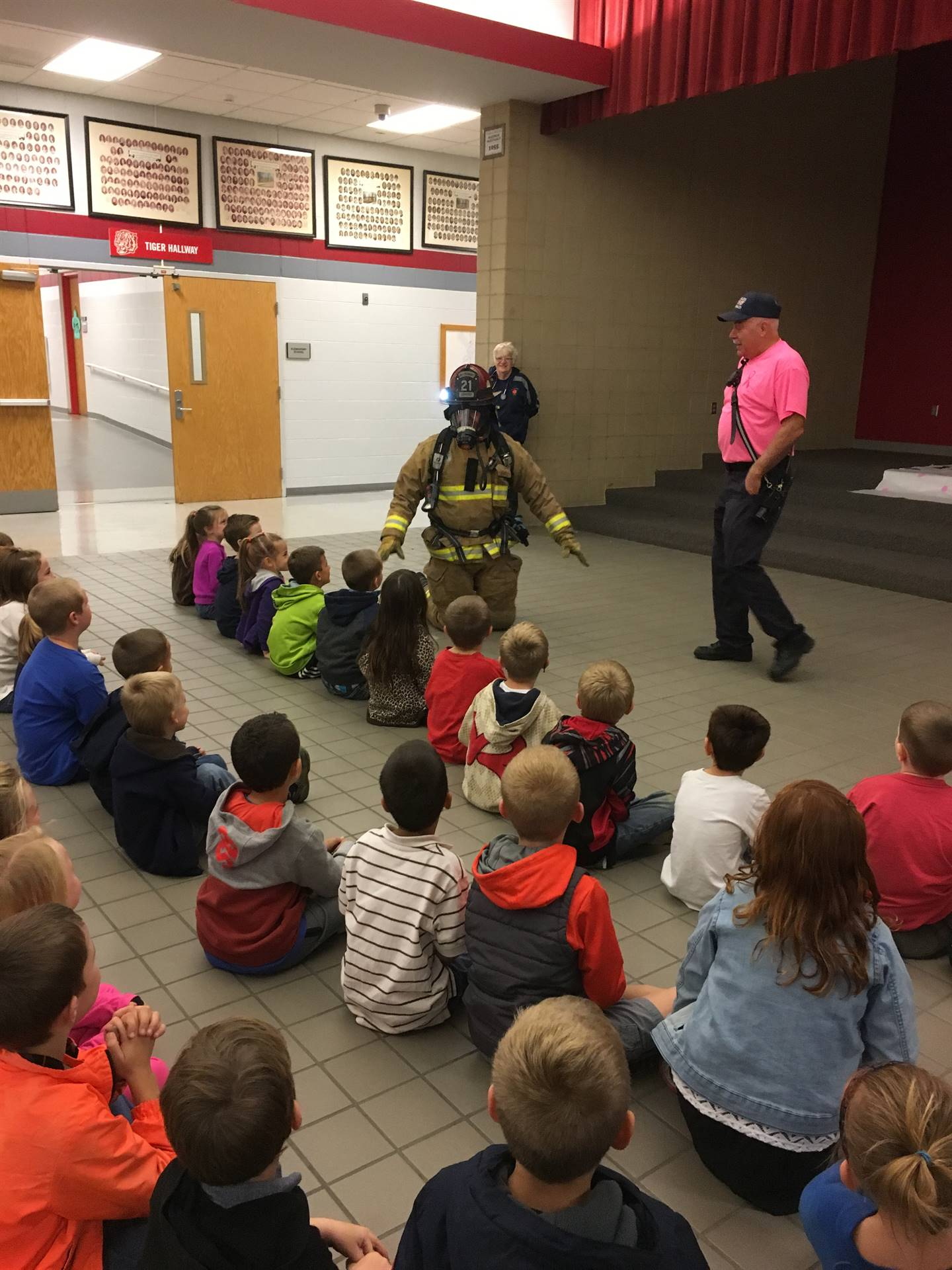Elementary Fire Safety with WAFD