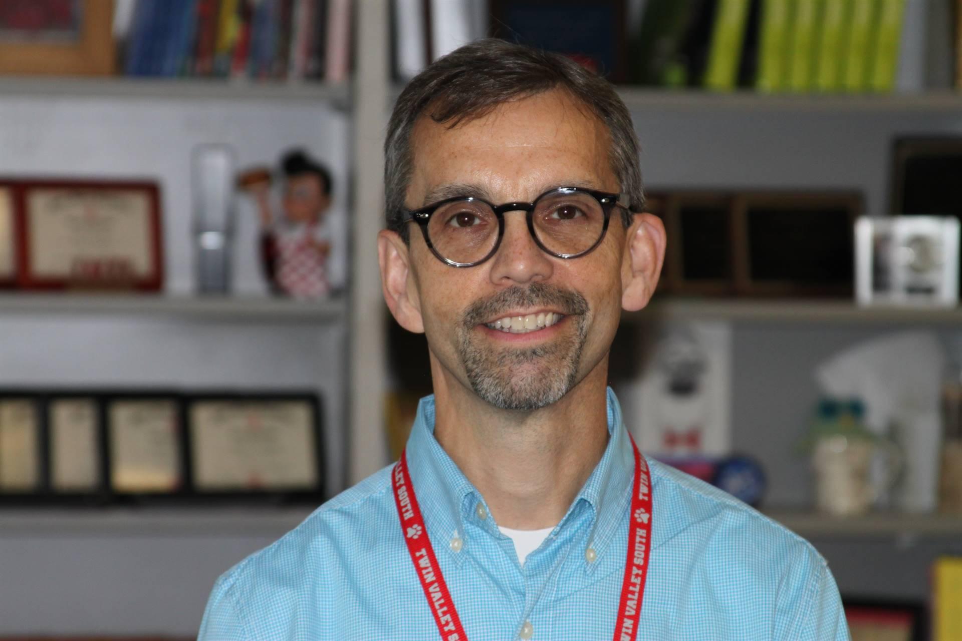October Teacher of the Month-Mr. Hamblin