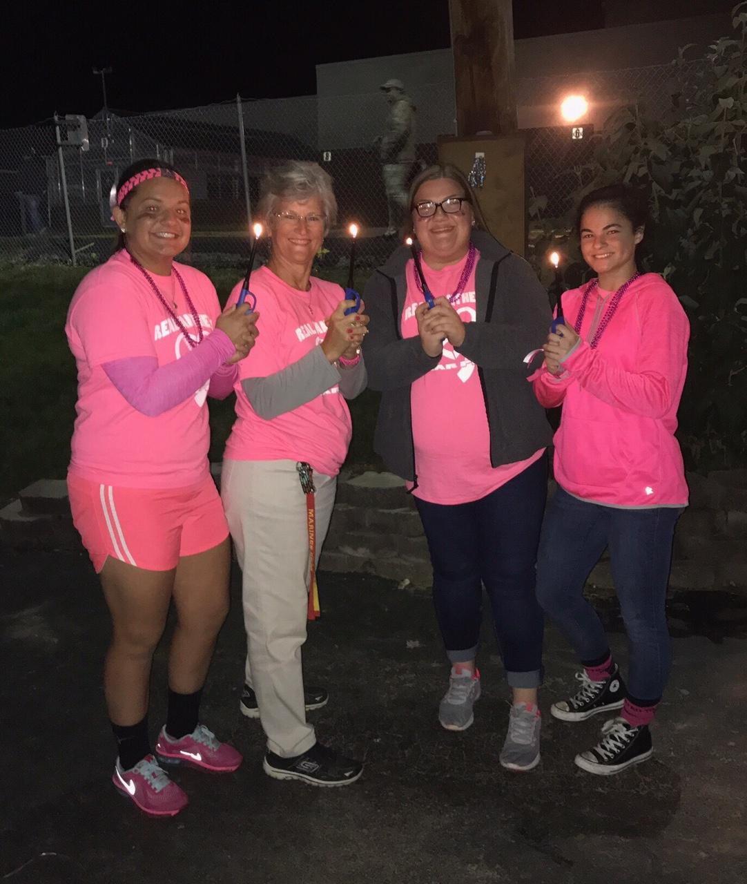 Luminaries Pink Out Game 10/13