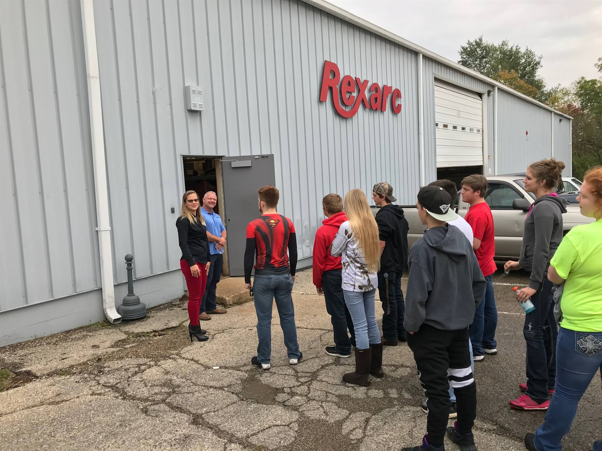 CBI Students visit Rexarc and Fetzer's Machining