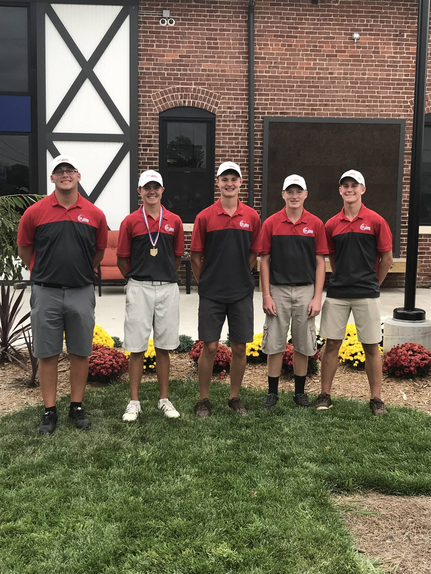 Boys Golf Team at Districts