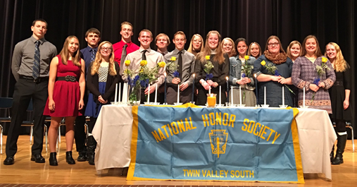 2016 National Honor Society Students