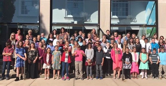 5th Grade Richmond Symphony Trip Group Photo