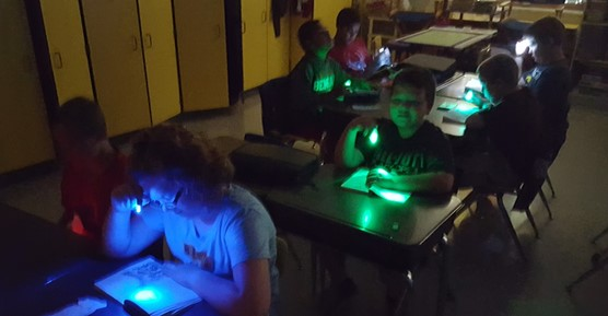 Hartwig's Class Friday Flashlight Reading