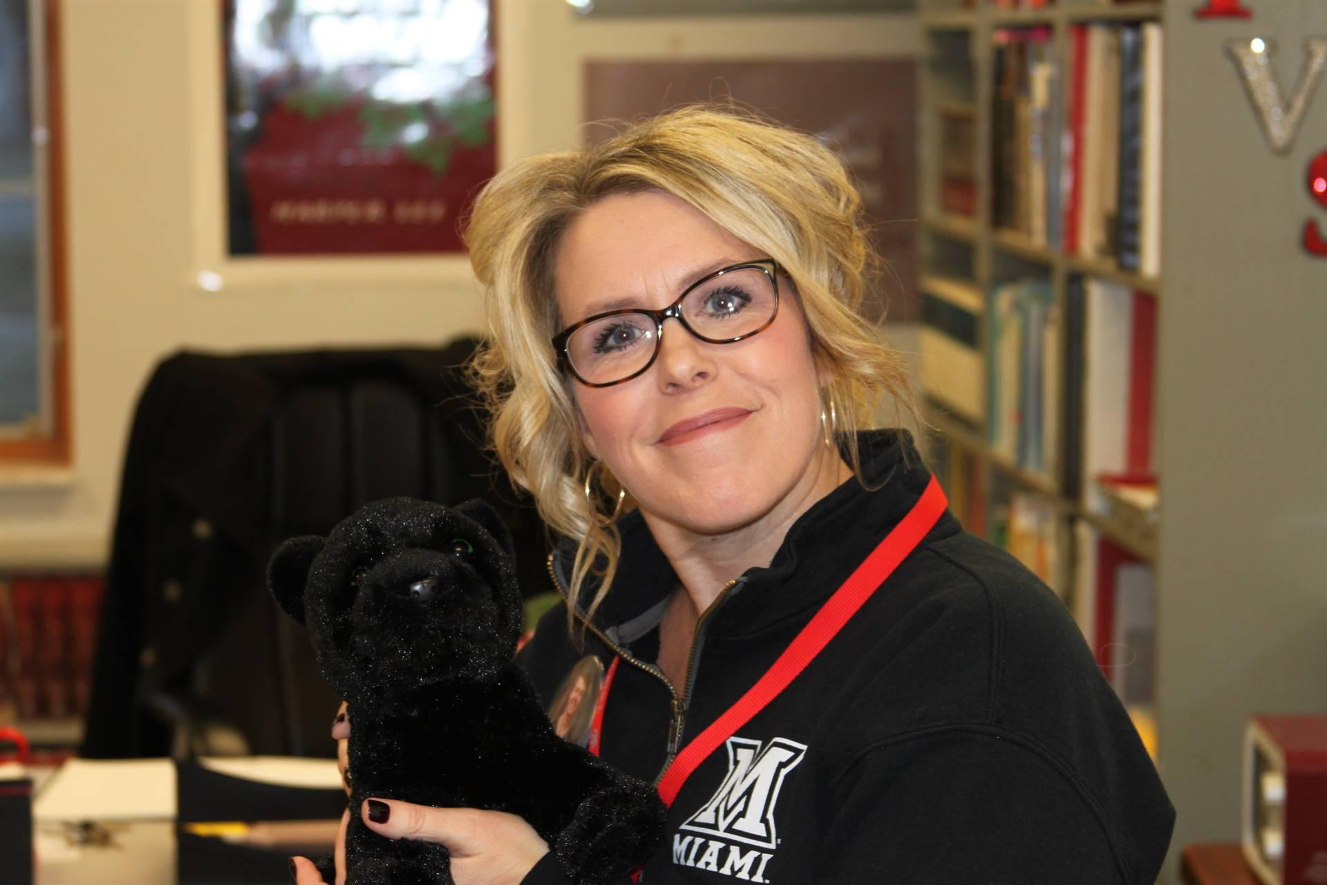 December Teacher of the Month- Mrs. Osborn