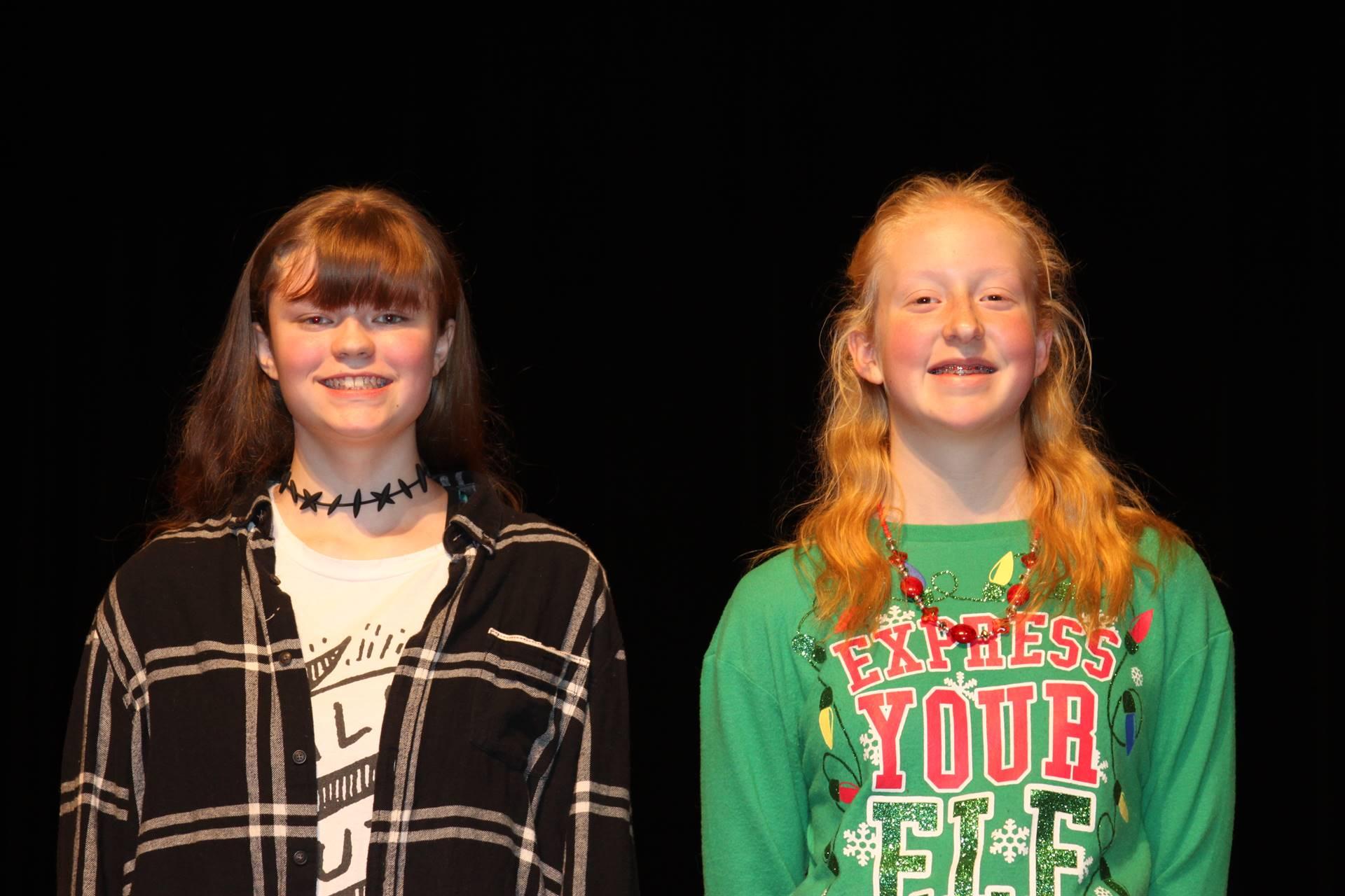 M.S. Spelling Bee Winners