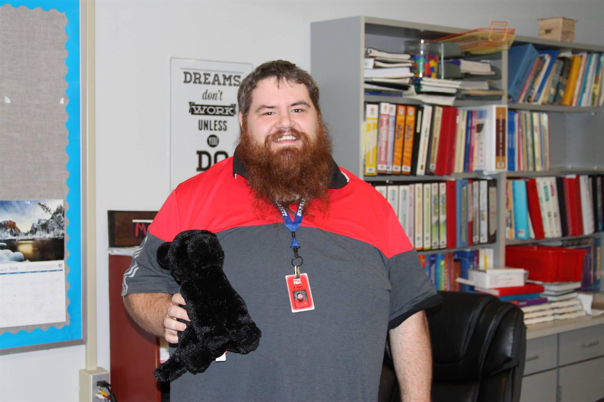 January Teacher of the Month- Mr. Haburn