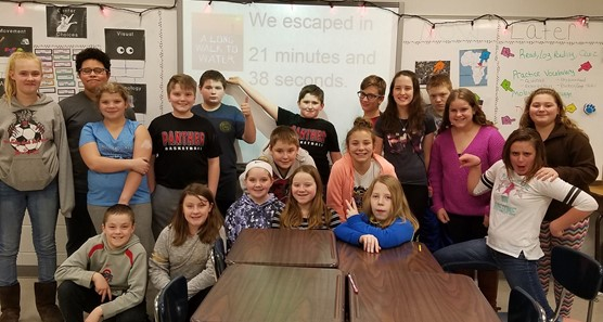 Mrs. Woodrum's class breakout room exercise.