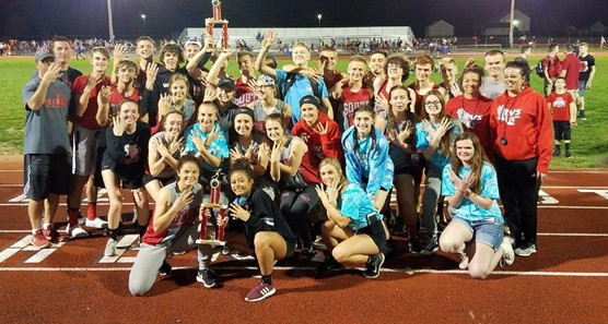 Boys and Girls Fred Durkle Invitational champions for the 4th year in a row!