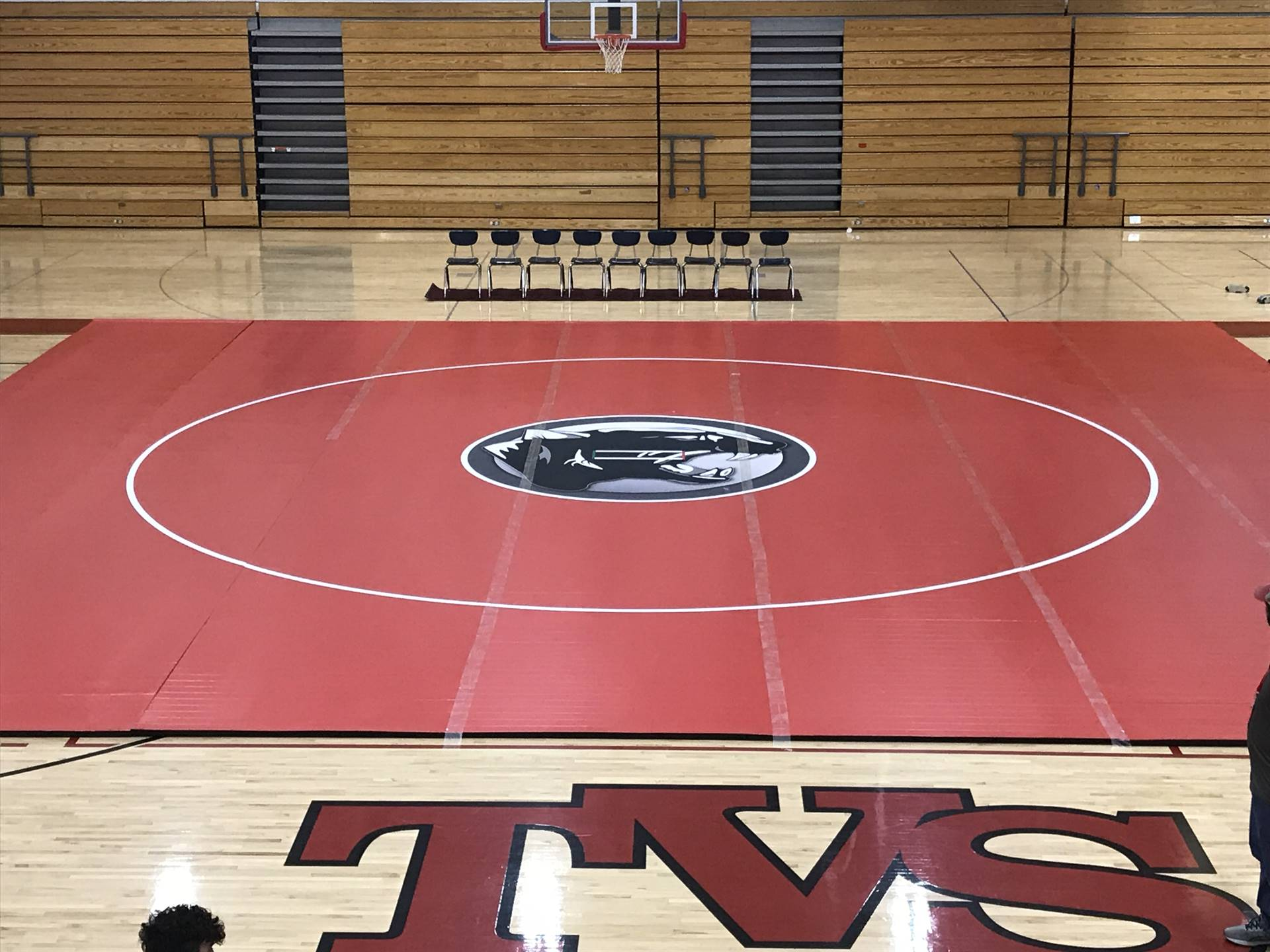 New Wrestling Mat