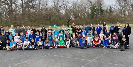 Child Abuse Awareness Day Group Picture