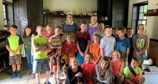 3rd Grade at Carillon Park