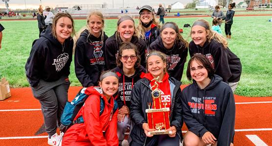 Girls Track Runner Up