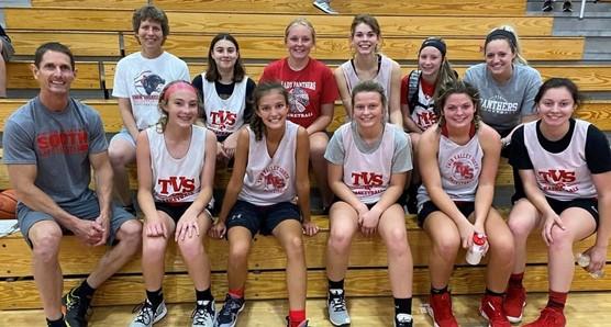 TVS Lady Panthers Basketball
